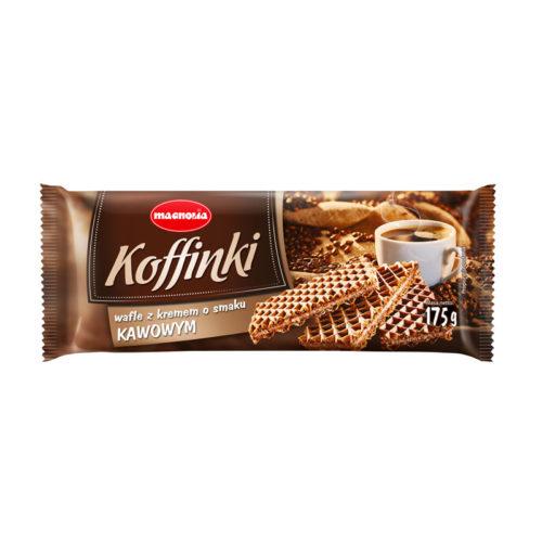 Koffinki - Cremewaffeln mit Kaffeegeschmack