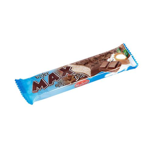 Max - Waffeln mit Milchcreme-Füllung und mit Milchschokolade überzogen