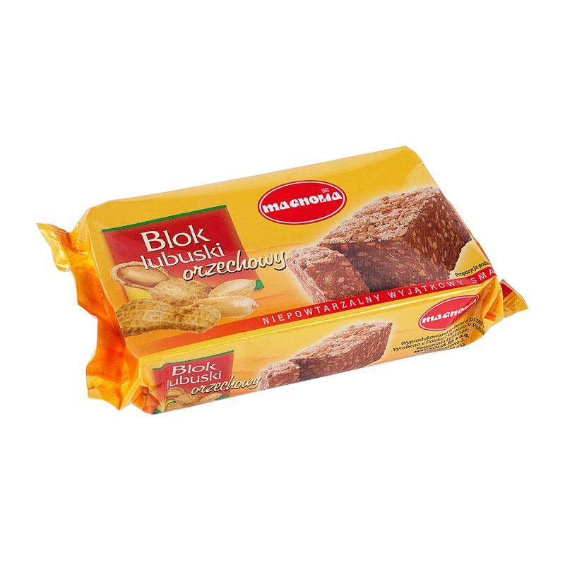 Kakao-Erdnuss-Block